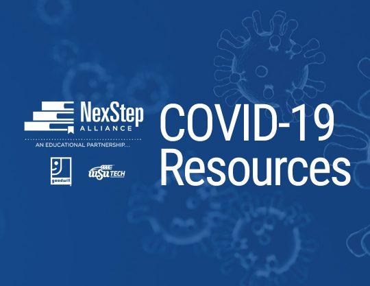 NexStep Covid19 Resources Header
