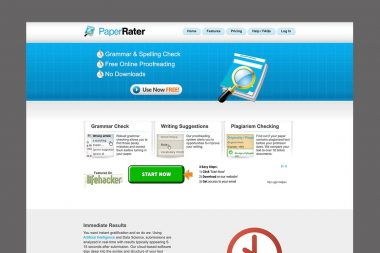 NexStep Alliance Student Resources Paper Rater